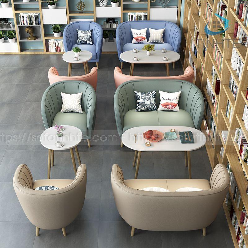 Sofa Tinh Tế - Sofa Cafe TTCF005
