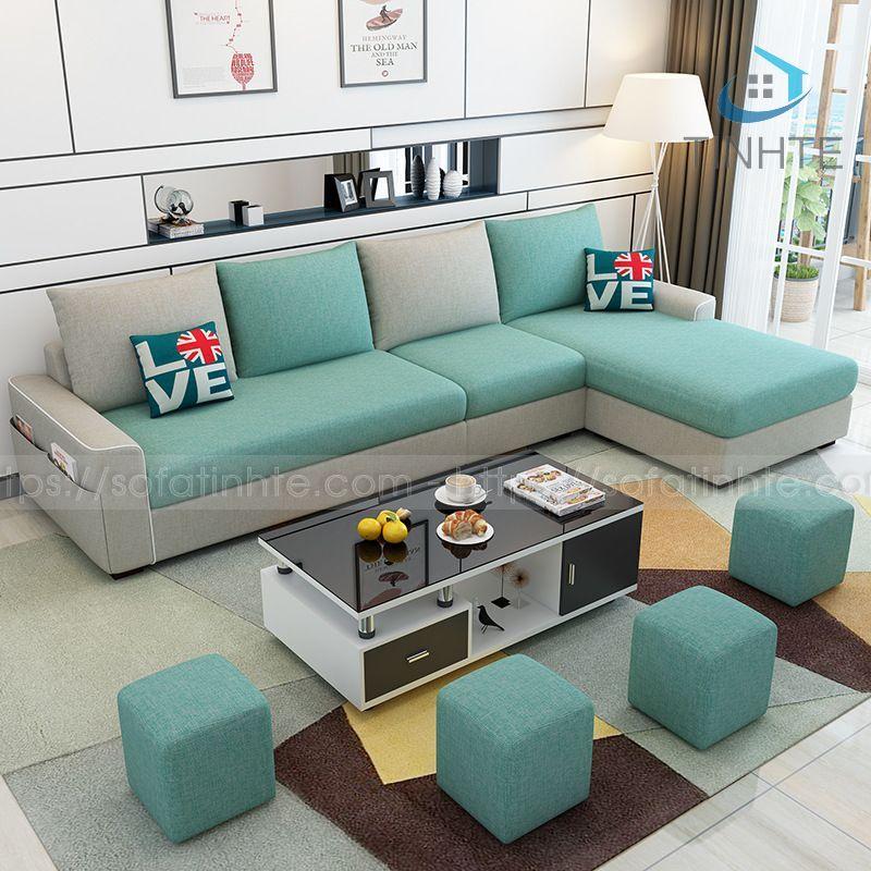 Sofa Tinh Tế - Sofa góc L TTGL001
