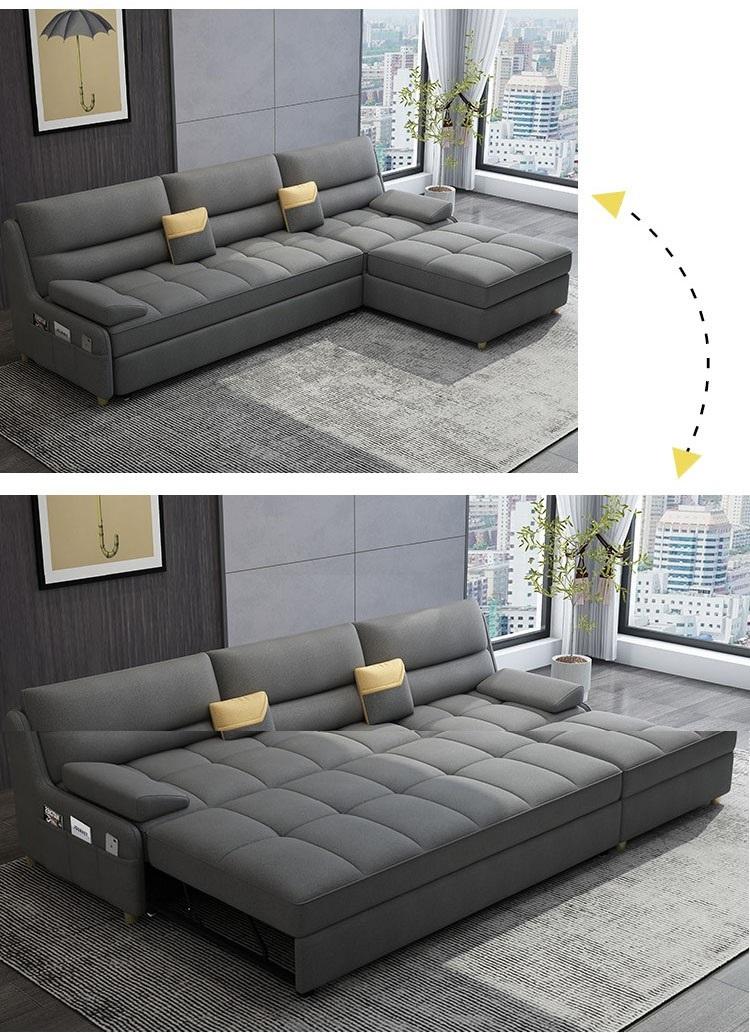 2 sản phẩm trong 1 cùng ghế sofa giường cao cấp