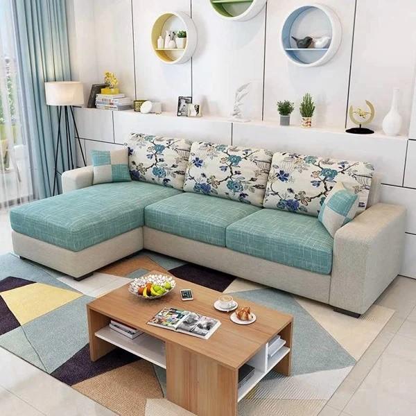 Sofa được làm từ chất liệu vải bố